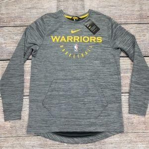 Nike Dry Golden State Warriors Sweatshirt Medium